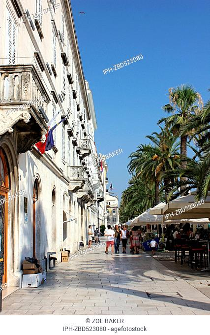 Croatia Split City street Zoe Baker