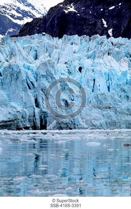 Usa, Alaska, Glacier Bay Np, View Of Margerie Glacier