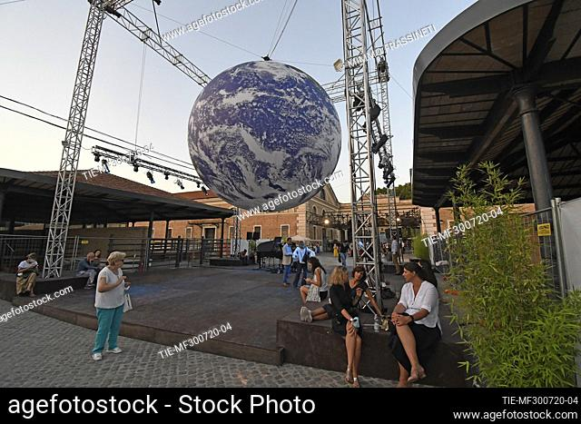 Luke Jerram's Gaia is a reproduction of the planet, created through the combination of high definition images provided by NASA