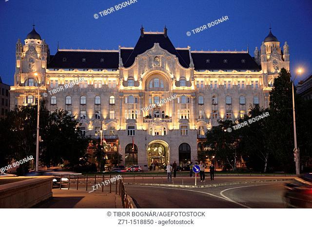 Hungary, Budapest, Gresham Palace, Four Seasons Hotel