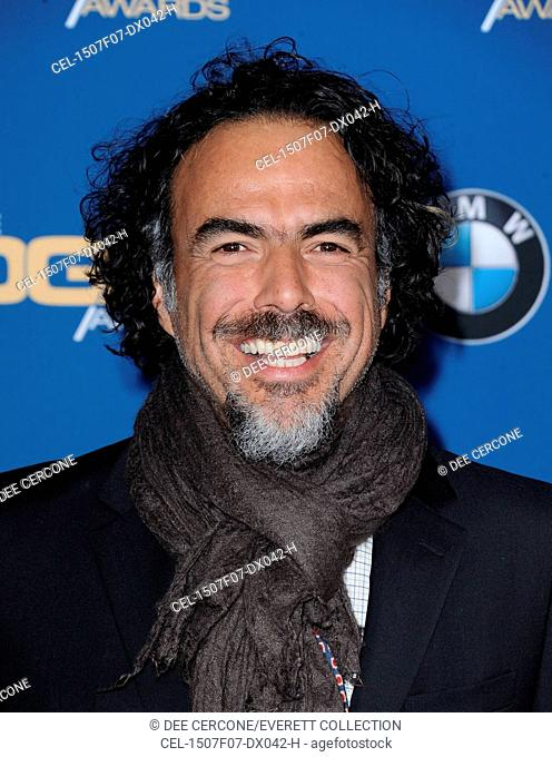 Alejandro Gonzalez Inarritu at arrivals for 67th Annual Directors Guild of America DGA Awards - ARRIVALS, The Hyatt Regency Century Plaza, Los Angeles