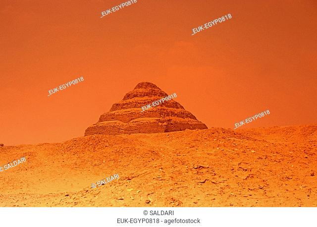 The Step Pyramid,Saqqara or Sakkara,Egypt