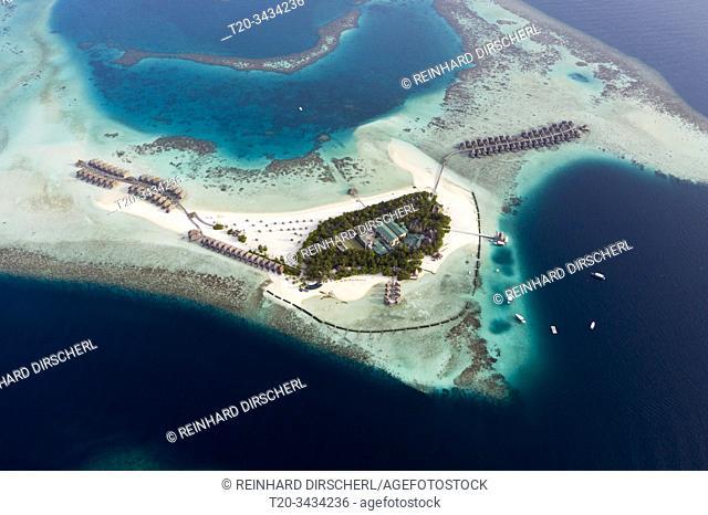 Vacation Island Moofushi, Ari Atoll, Indian Ocean, Maldives