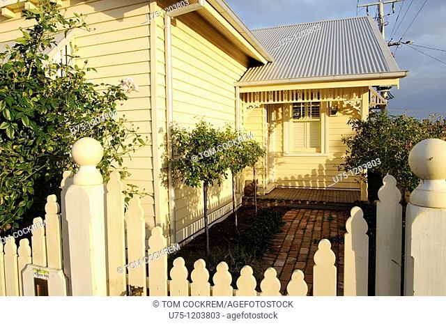 Victorian style house, Yarraville, Melbourne, Australia