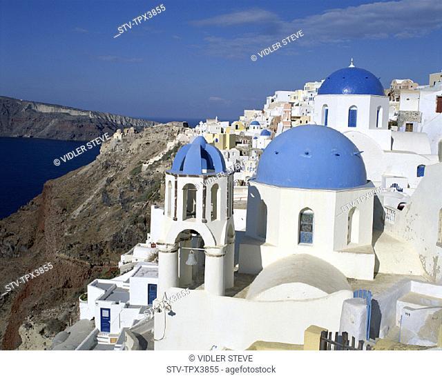 Cyclades, Greece, Europe, Holiday, Islands, Landmark, Oia, Santorini, Tourism, Travel, Vacation