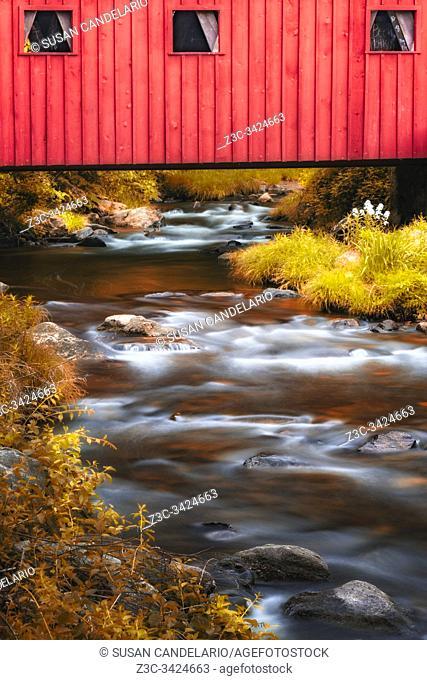 Kent Falls Covered Bridge