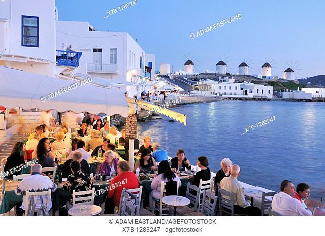 Mykonos  Greece  Kastro / Little Venice