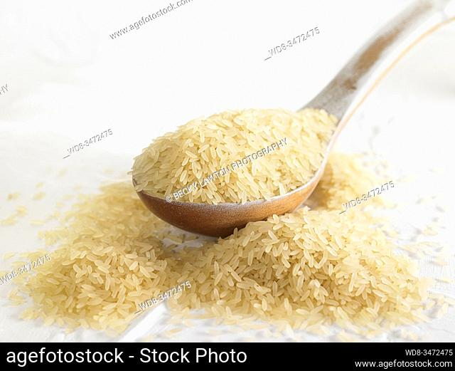 arroz vaporizado / Steamed rice