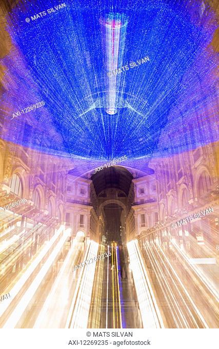 Galleria Vittorio Emanuele II; Milan, Lombardy, Italy