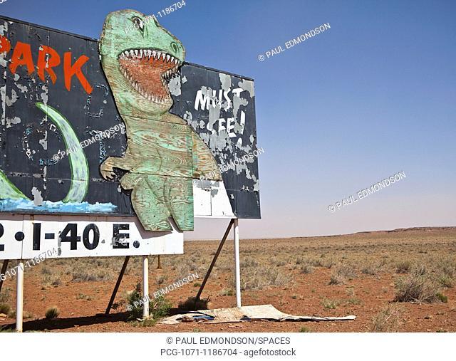 Dinosaur Attraction Billboard
