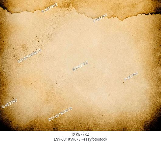 Old grunge paper texture with natural pattern