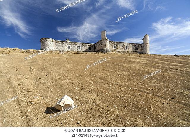 Castle of Condes, Chinchón. Madrid Community, Spain