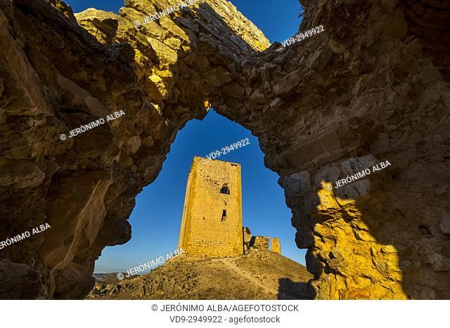 La Estrella Castle, Teba. Málaga province, Andalusia. Southern Spain Europe