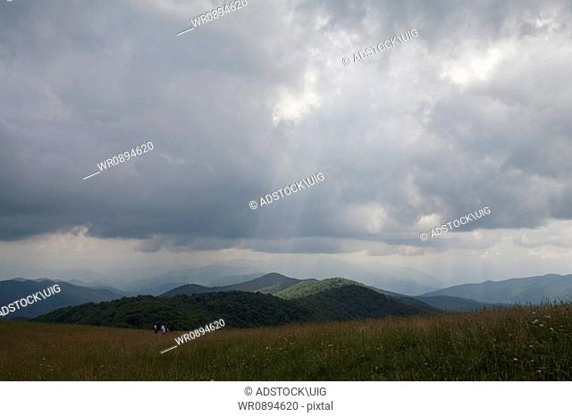 Max Patch, Appalachian Trail, Pisgah Nat. Forest, NC