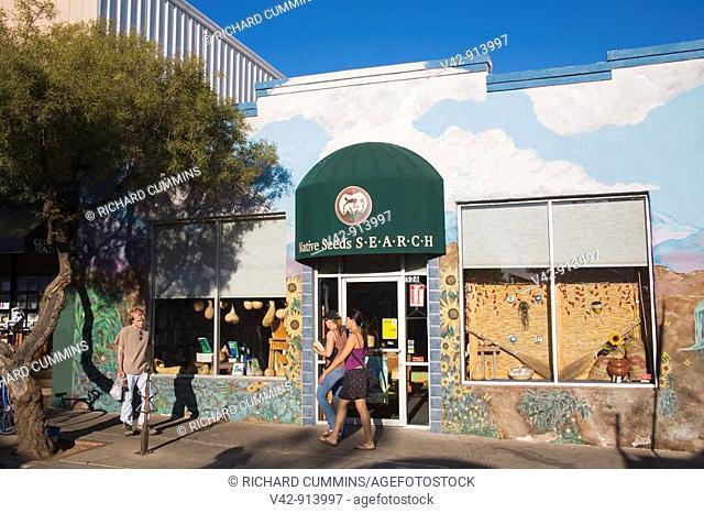 4th Avenue Shopping District, Tucson, Pima County, Arizona, USA
