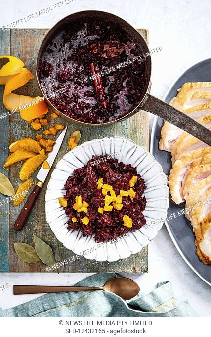 Spiced beetroot and orange relish