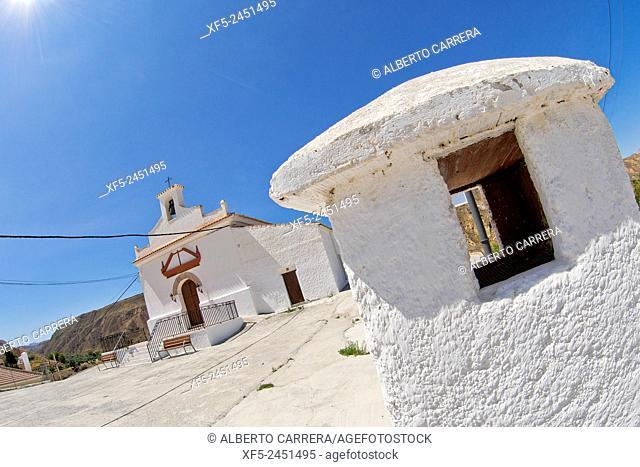 Nuestra Señora de la Anunciación Parish, Gorafe, Granada, Andalucía, Spain, Europe