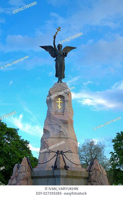 The Russalka (Mermaid) Memorial. Tallinn, Estonia