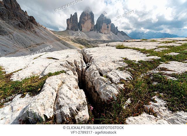 Europe, Italy, Dolomites, Belluno, Bolzano. Tre Cime di Lavaredo
