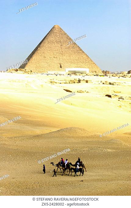 Pyramid of Cheops - Giza, Lower Egypt