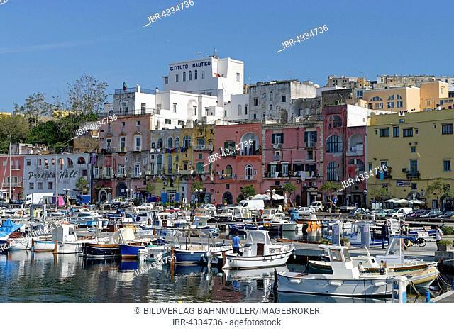 Marina di Procida, Procida Island, Phlegrean Islands, Gulf of Naples, Campania, Italy