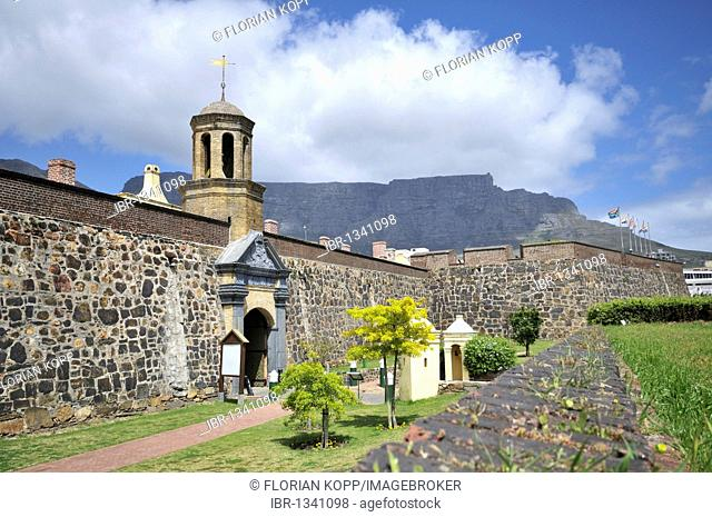 Main entrance to the Castle of Good Hope, Cape Town, South Africa, Africa
