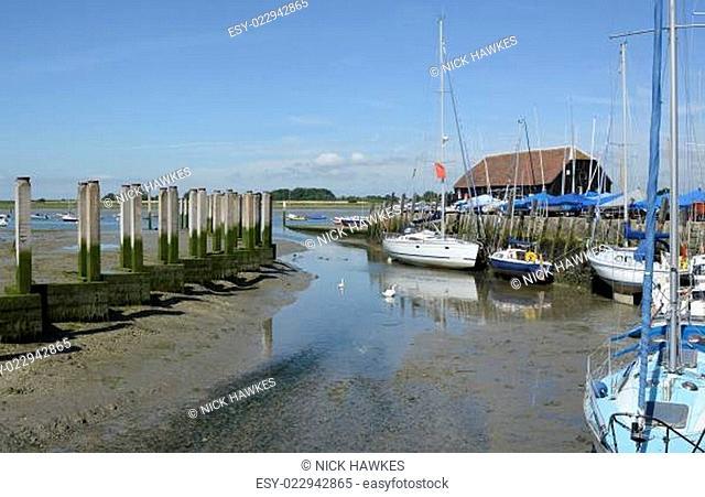 Bosham Quay. West Sussex. England