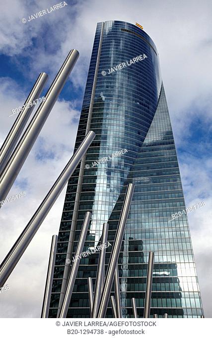 Torre Espacio, CTBA, Cuatro Torres Business Area, Madrid, Spain