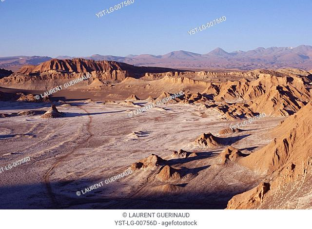 Worth of La Luna, Los Flamencos Reserve National, Atacama Desert, Region of Antofagasta, Santiago, Chile