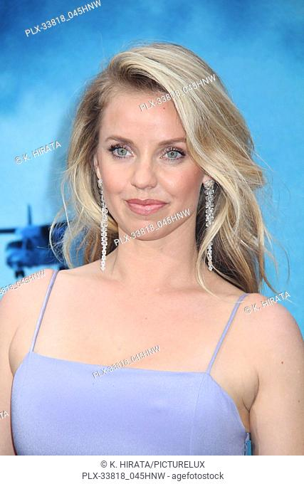 """Kelli Garner 05/18/2019 """"""""Godzilla: King of the Monsters"""""""" Premiere held at the TCL Chinese Theatre in Hollywood, CA. Photo by K"""