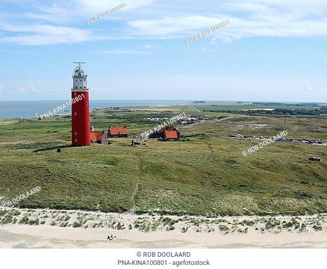 Lighthouse Eierlandse Toren, Texel, De Cocksdorp, Wadden islands, North Holland, The Netherlands, Holland, Europe
