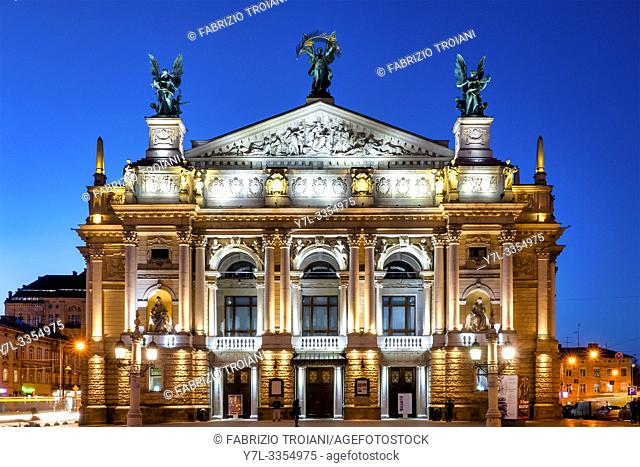 Lviv Theatre of Opera and Ballet, Lviv, Ukraine