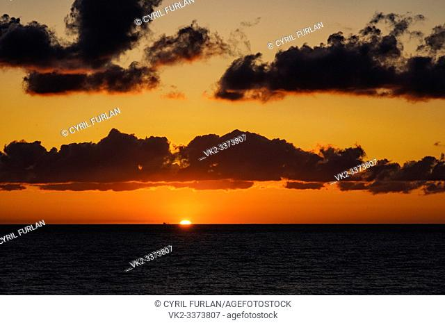 Sun Rise Virginia Beach Virginia