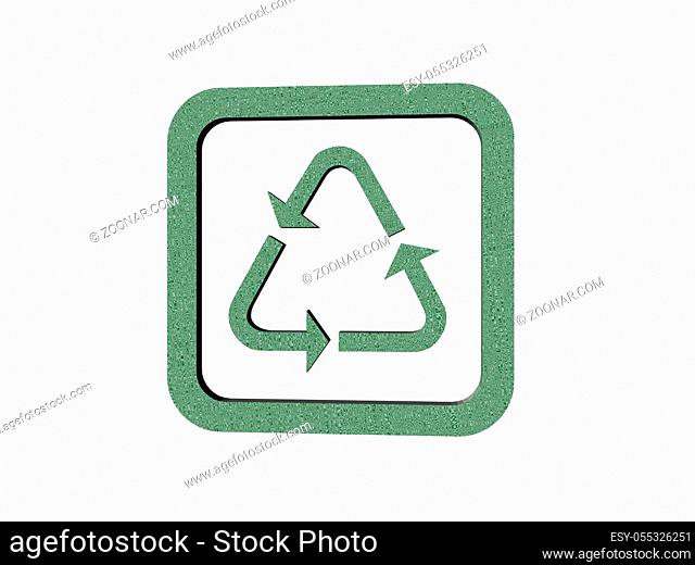 Piktogramm für Recycling