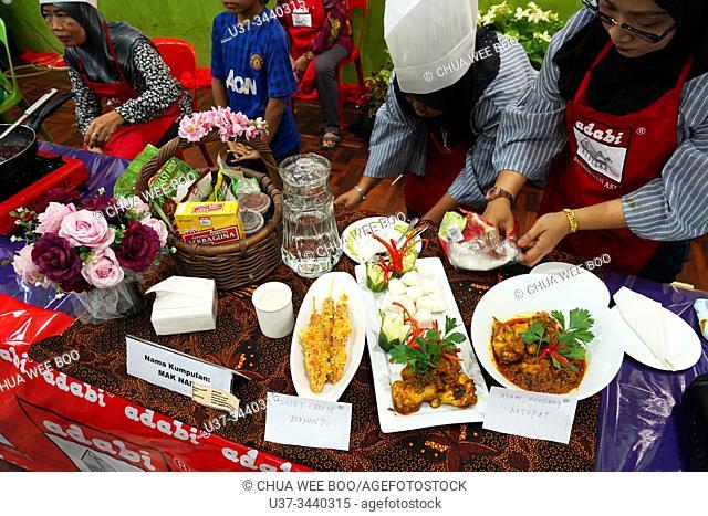 Fiesta Satok 3.0 cooking competition at Sungai Maong Community Hall, Kuching, Sarawak, Malaysia