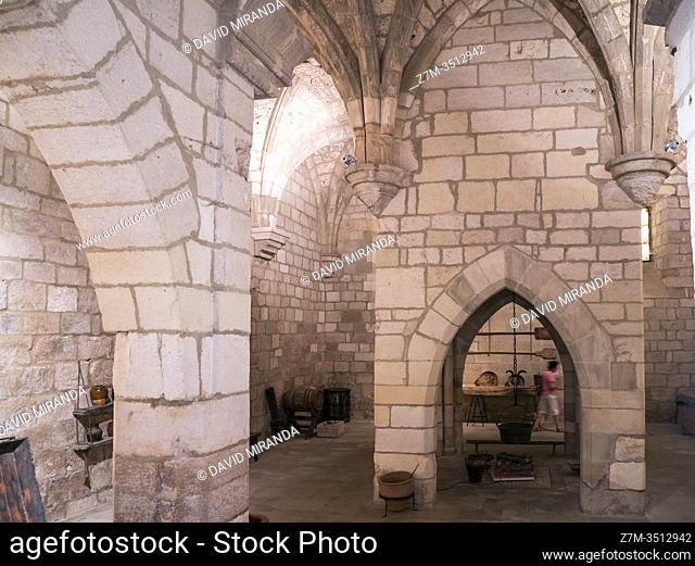 Monasterio de Santa María la Real de Iranzu. Navarra. España