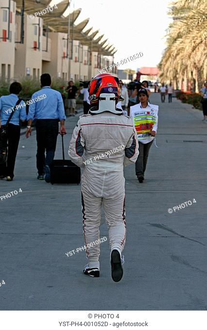 Kamui Kobayashi, BMW Sauber Ferrari C29, 14/03/10, Grand Prix, Bahren, Persian Gulf