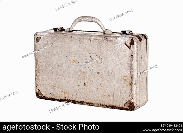 dent old metal case