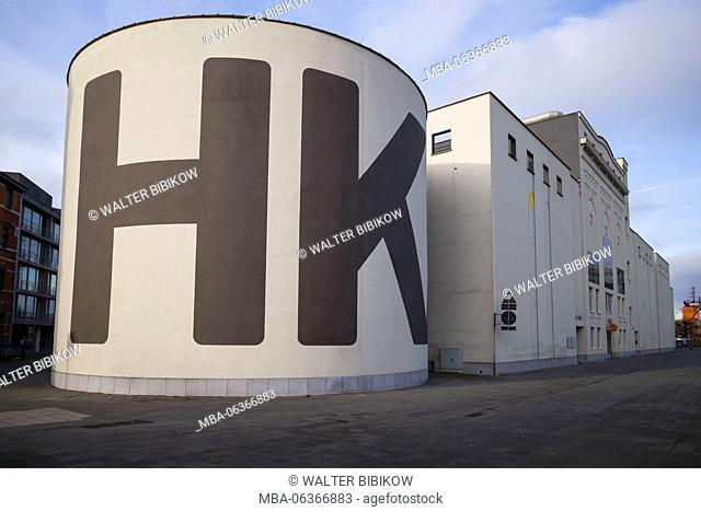 Belgium, Antwerp, MHKA, museum of contemporary art, exterior