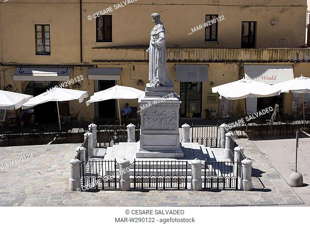 europe, italy, toscana, pietrasanta, monument of leopoldo II
