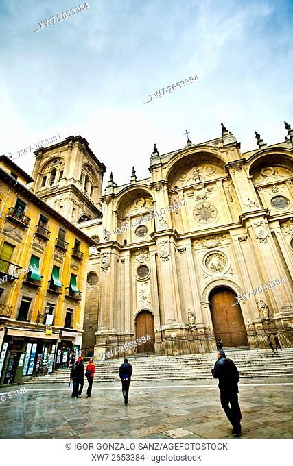 Renaissance Cathedral of Granada (Santa Iglesia Catedral Metropolitana de la Encarnación de Granada) (Granada, Spain, Europe, Andalusia)