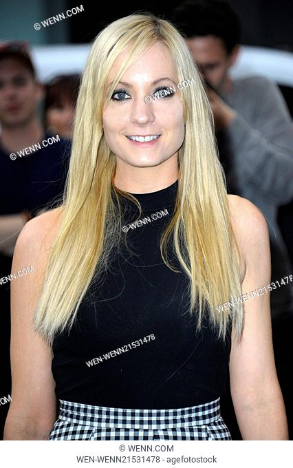 Opening Night of 'The Curious Incident of the Dog in the Night Time' at the Gielgud Theatre, Shaftesbury Avenue, London Featuring: Joanne Froggatt Where: London