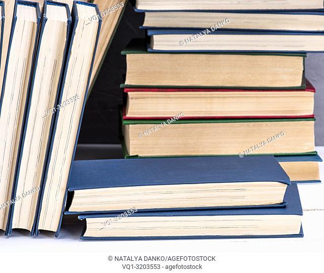 bookshelf, full frame, close up