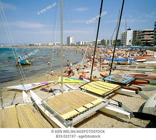 Salou. Tarragona province. Spain