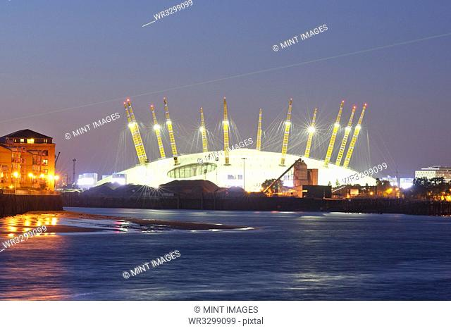 Millenium Dome at Night