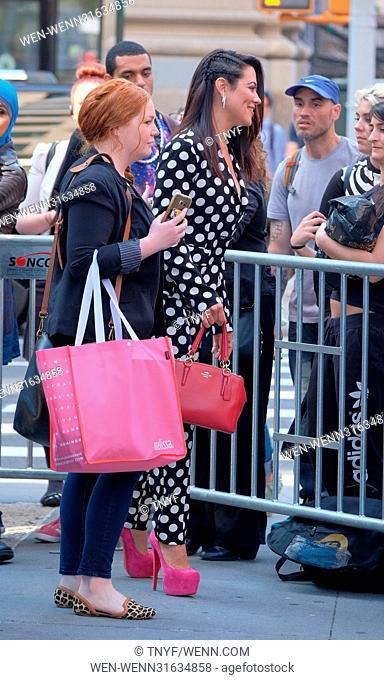 Cast of Daytime Divas at AOL Build Featuring: Fiona Gubelmann, Star Jones, Vanessa Williams, Chloe Bridges, Camille Guaty Where: Manhattan, New York