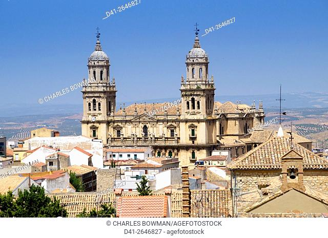 Europe, Spain, Jaen cathedral