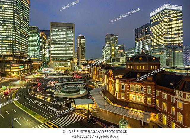 Japan , Tokyo City, Tokyo Station west side