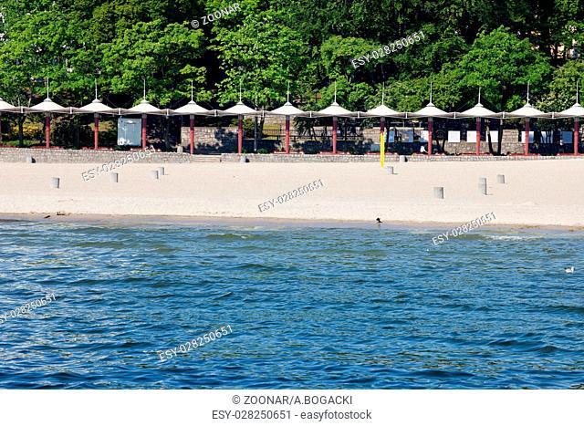 Beach in Gdynia