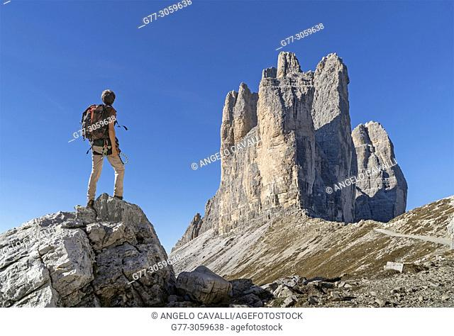 Italy. Dolomites. Tre Cime di Lavaredo